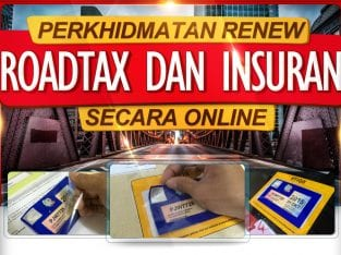 Servis Renew Insurance dan Roadtax