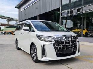 2019 Toyota Alphard SC [2.5] Unreg