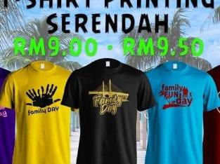 T-Shirt Printing Murah