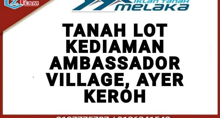 Tanah Lot Kediaman Ambassador Village, Ayer Keroh Melaka