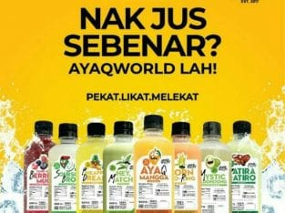 Ayaq world Minuman sejati