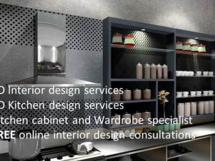 3D Interior/Kitchen Design Services