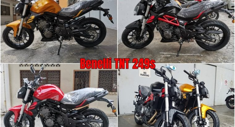 Benelli TNT 249S Two – Cylinder