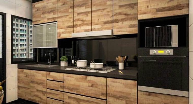 Kitchen cabinet, wardrobe, tv cabinet N pole