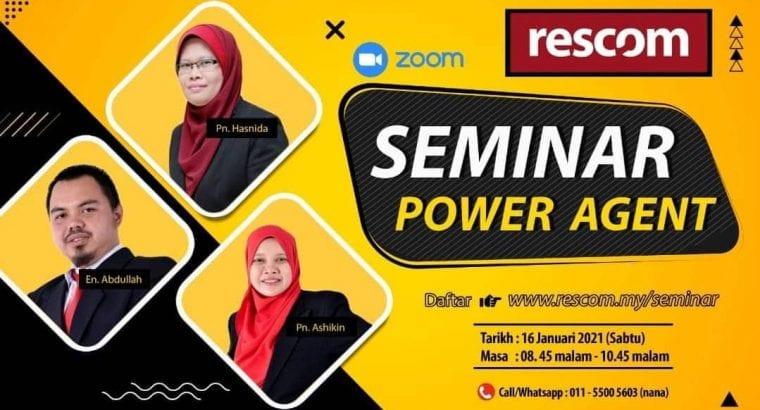 Rescom Virtual Seminar