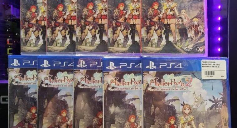 Ps4 Atelier Ryza 2 Lost Legends