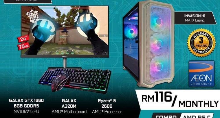 OMG Tech Gaming Desktop Promotion