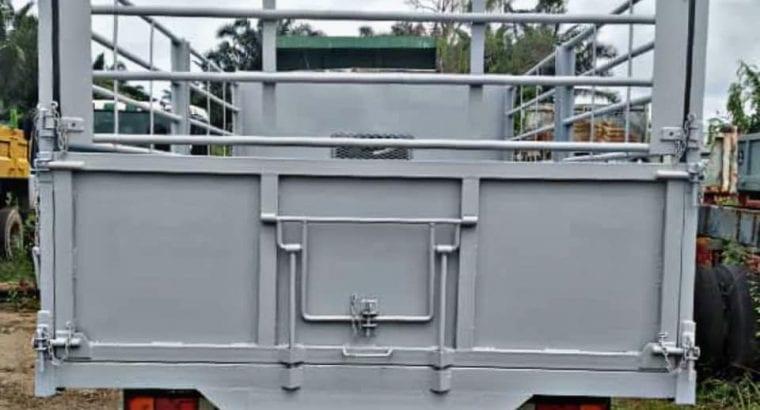 Rebuilt lorry