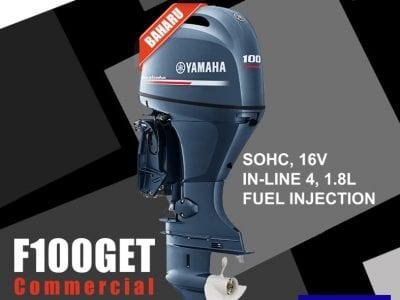 Yamaha F100GET Commercial Baharu