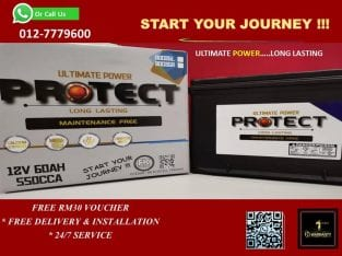 Protect Battery MFNS40ZL, MFNS60R/L, MFNS70R/L