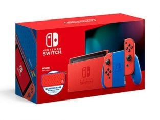 Nintendo Switch – Mario Red & Blue Edition -Maxsoft Set- 🍄