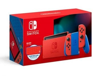 Nintendo Switch – Mario Red & Blue Edition -Maxsoft Set- 🍄