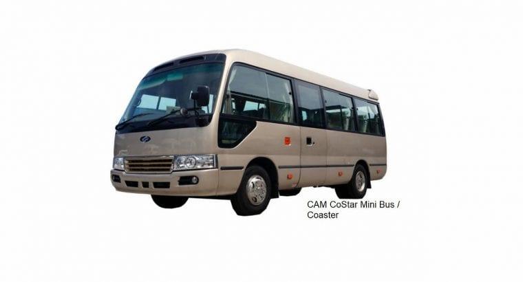 New CAM CoStar Hino Coaster 20 ~ 28 Seat Mini Bus