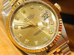 Rolex Datejust Half Gold 36mm 16233