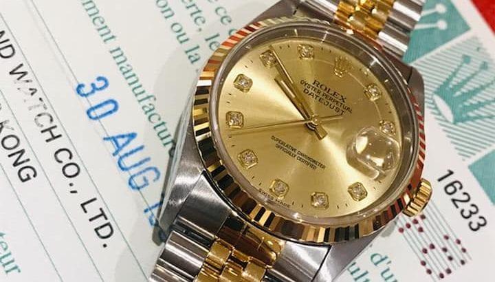 Rolex Datejust Half Gold 36mm 16233