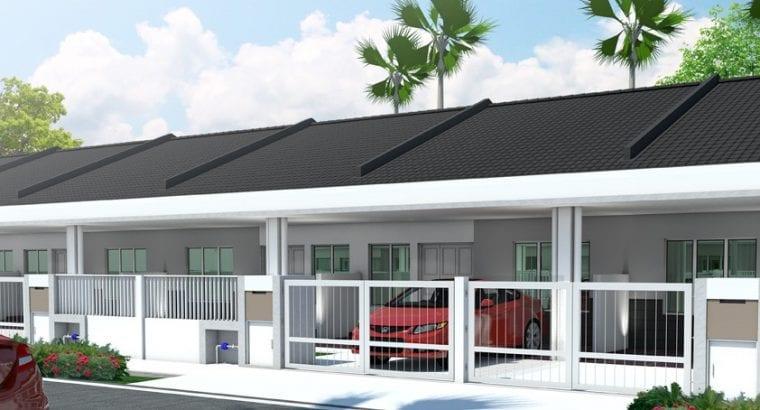 Rumah Baru Teres 1 Tingkat Mampu Milik Klang