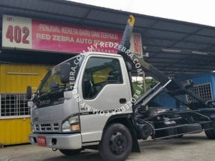 ISUZU NPR ARM ROLL 7500kg REBUILT YEAR 2021