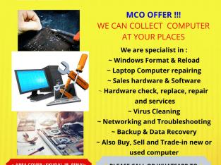 Perkhidmatan servis dan membaiki komputer