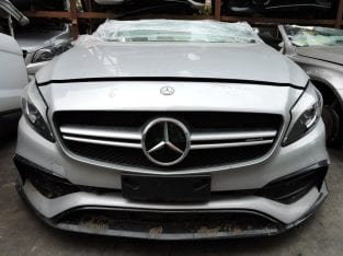 MERCEDES-BENZ A-CLASS W176 A45 FACELIFT AMG FRONT CUT