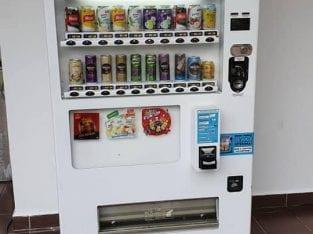 Vending machine instalment