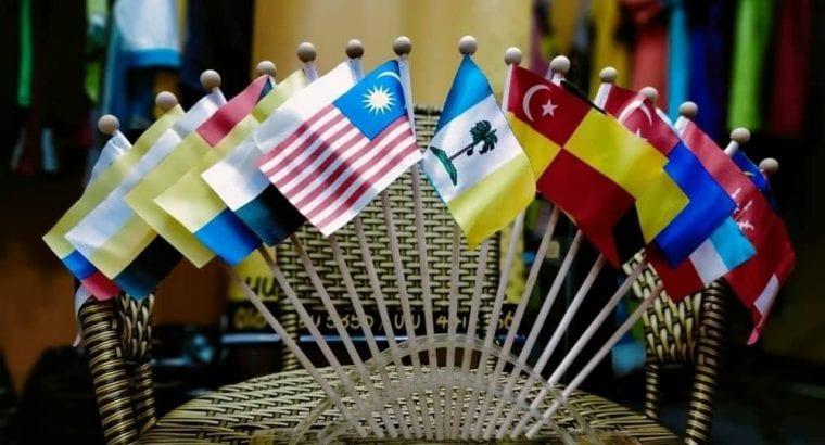 Tempahan TableFlag Negeri2 & Negara2