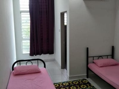 Master bedroom available