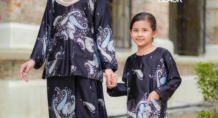 Kurung Kedah, set matchy istimewa ibu dan anak