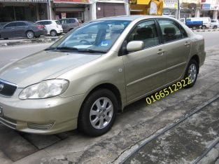 Toyota Corolla Altis 1.6 utk dijual