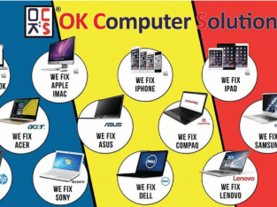 OK Computer Solution Melaka repair laptop ape je?