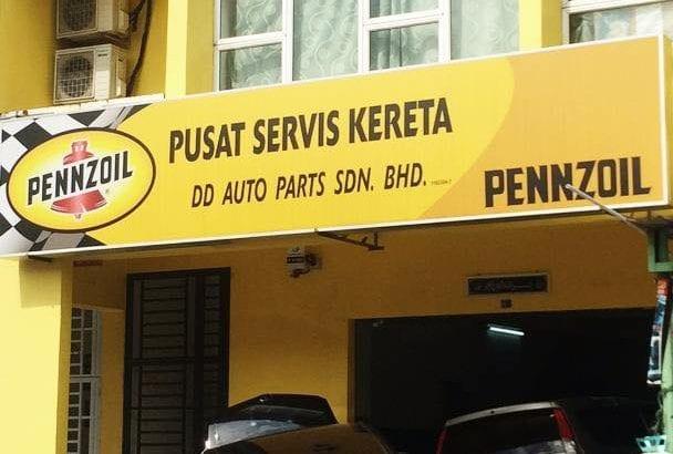 DD AutoParts sdn bhd service centre