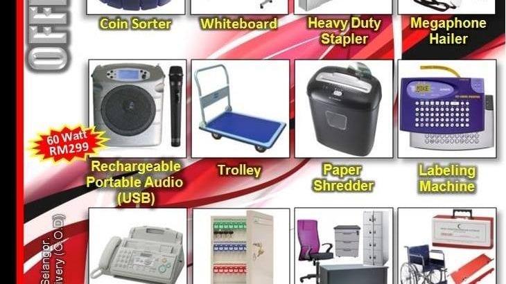 Pembekal peralatan pejabat di Malaysia