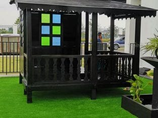Gazebo Playground 7×8 kaki
