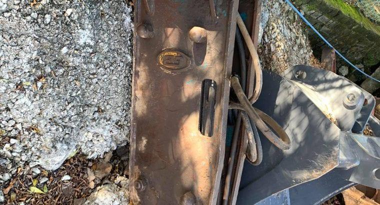 Hydraulic Breaker Untuk Mesin CASE 580
