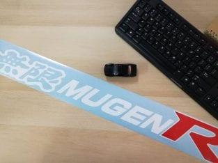 Mugen R Sticker