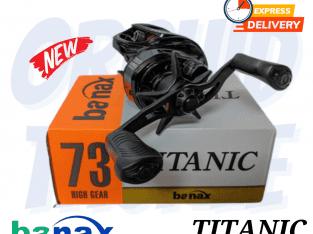 BANAX TITANIC PRO HIGH GEAR BAITCASTING REEL