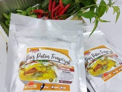 Pais Patin Tempoyak Frozen dari resepi asli Restoran Mokde Ikan Bakar Jengka Pahang