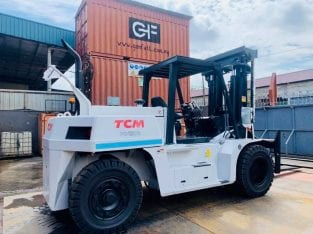 New 15 Ton TCM Forklift Rental available