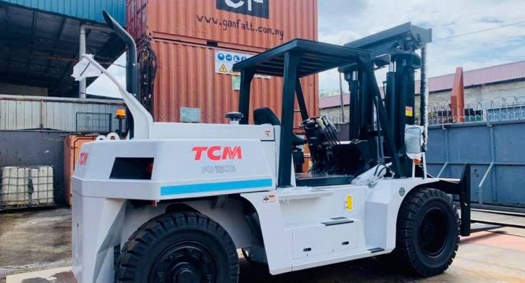 New 15 Ton TCM Forklift Rental available