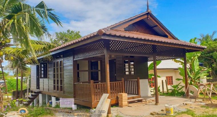 Buat rumah kayu moden