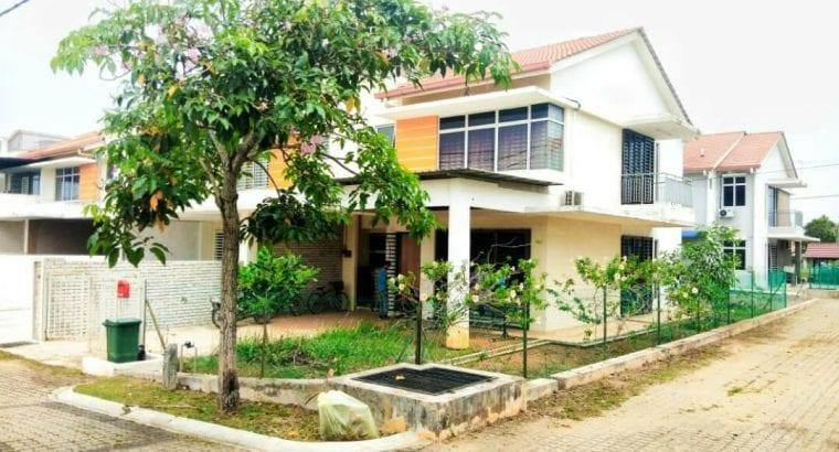 Double Storey End lot KotaSas P3, Kuantan