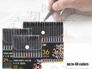 FINELINER COL PEN 0.4MM 12S / 24S / 48S / 100S