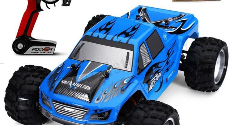 WL Toys 2.4G 1:18 RTR 4WD Monster Truck.