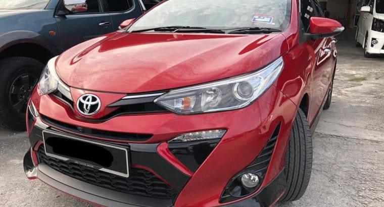 Toyota Yaris 1.5 g spec Year made 2019