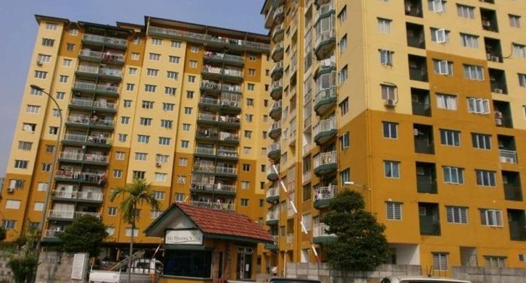 CORNER UNIT Apartment, Sri Pinang Villa, Ampang