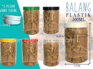 Balang Plastik 500ml