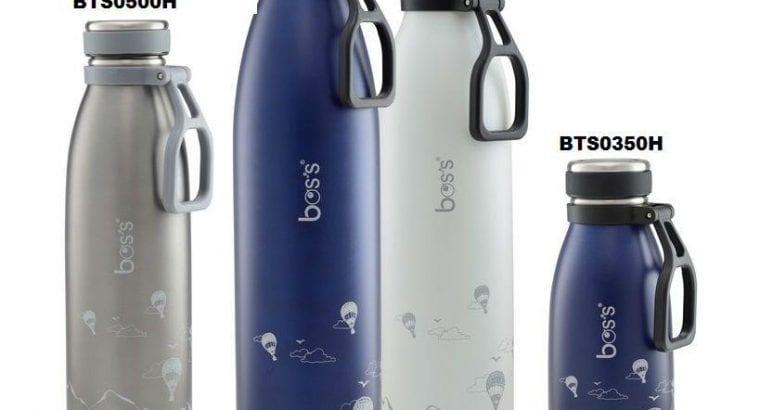 bos's stainless steel vacuum bottle 350ml