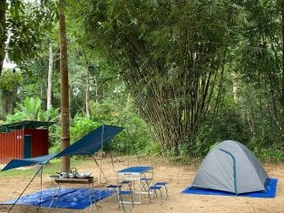 Camping ground for rent