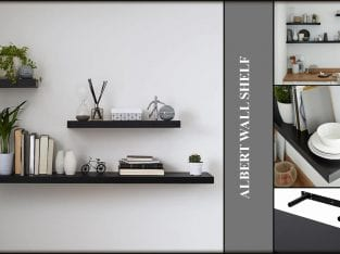 Albert Wall Shelf – 600mm and 800mm