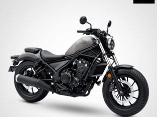 HONDA REBEL 500 MATTE ARMORED SILVER METALLIC