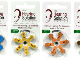 All size hearing aid batteries
